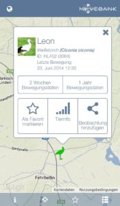 Screenshot Animaltracker